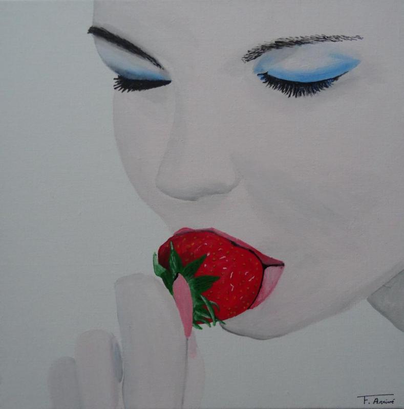 La femme à la fraise
