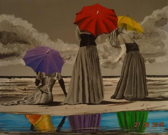 Les Femmes aux Ombrelles