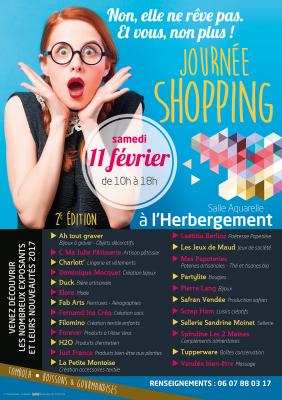 Journee shopping affiche 1